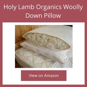 Holy Lamb Organics Woolly Down Pillow