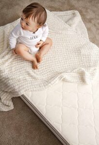 My Green Mattress Organic Cotton and Natural Wool Crib Mattress