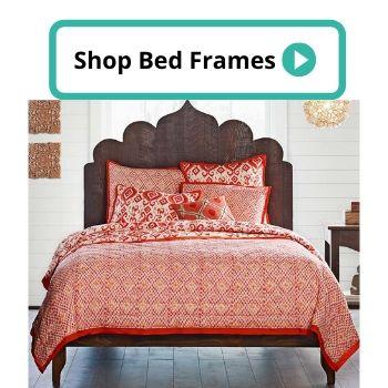 natural wood bed frame (1)