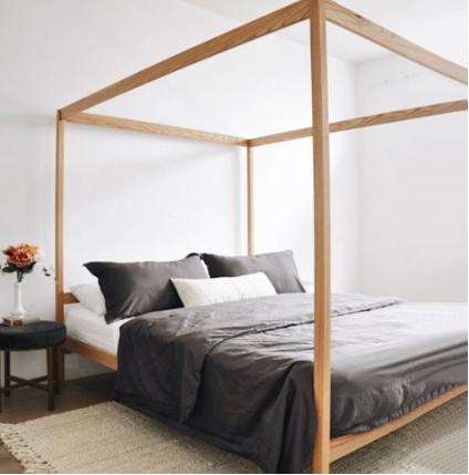 non toxic natural bed frame