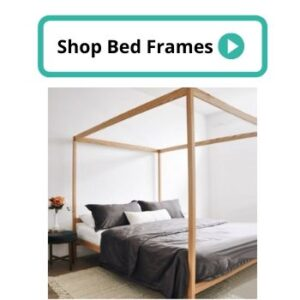 non toxic natural wood bed frame