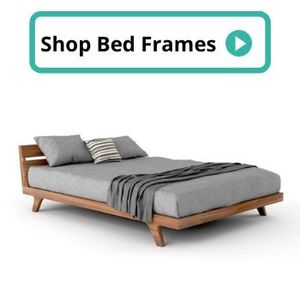zero voc bed frame