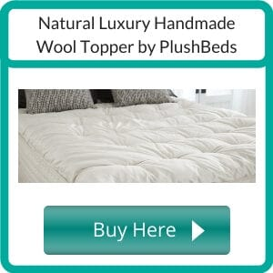 natural mattress topper