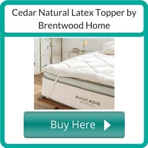 best organic mattress topper