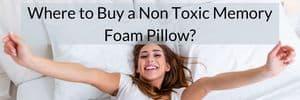 non toxic memory foam pillow