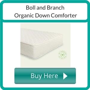 organic down comforter