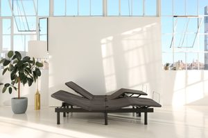 The Easy Adjustable Bed Frame by Brentwood Home
