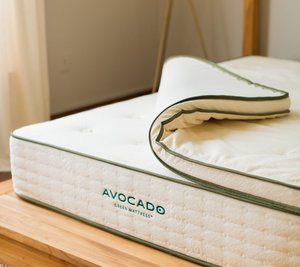 avocado organic latex mattress topper