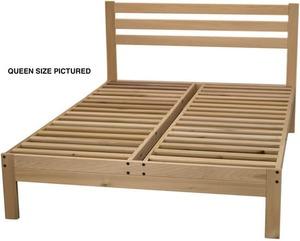 chemical free platform bed