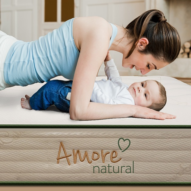 Amore Beds Natural Twin Mattress