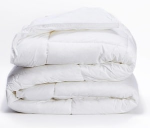 best organic down comforter