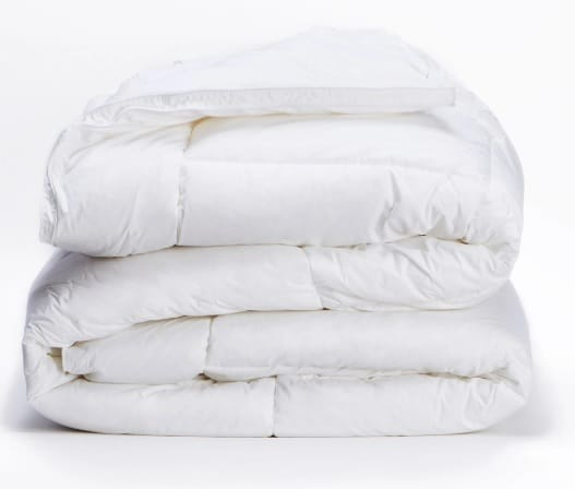 Luxor Linens Organic Down Comforters