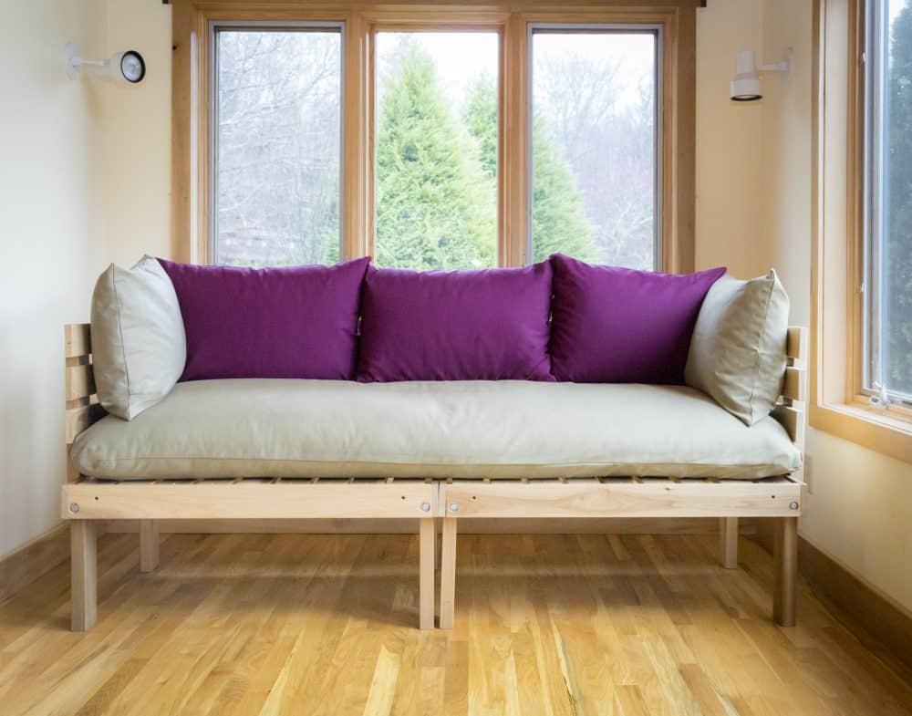 Organic Platform Couch by Carolina Morning Designs™