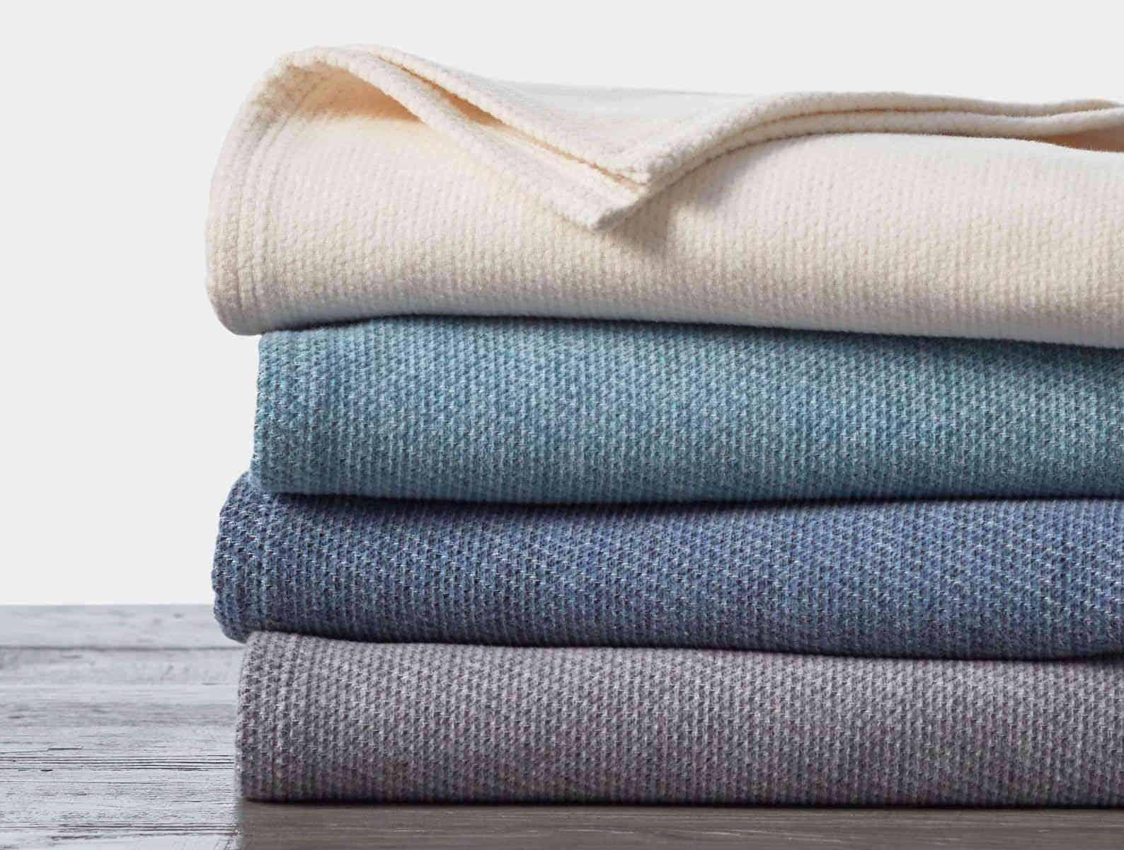 Sequoia Organic Cotton & Wool Blanket