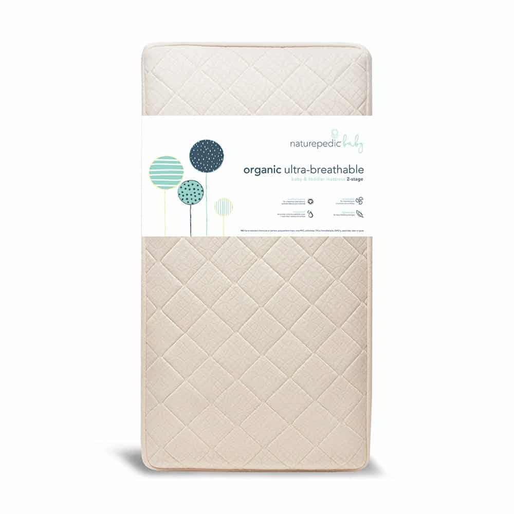 Organic Breathable 2-stage Crib Mattress by Naturepedic
