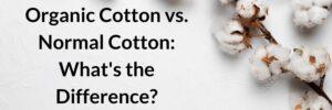 organic cotton vs normal cotton (1)