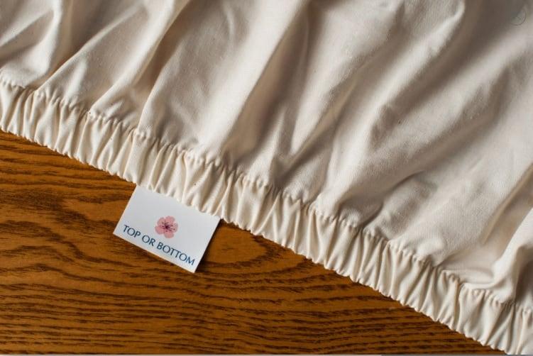 American Blosson Organic Baby Sheets