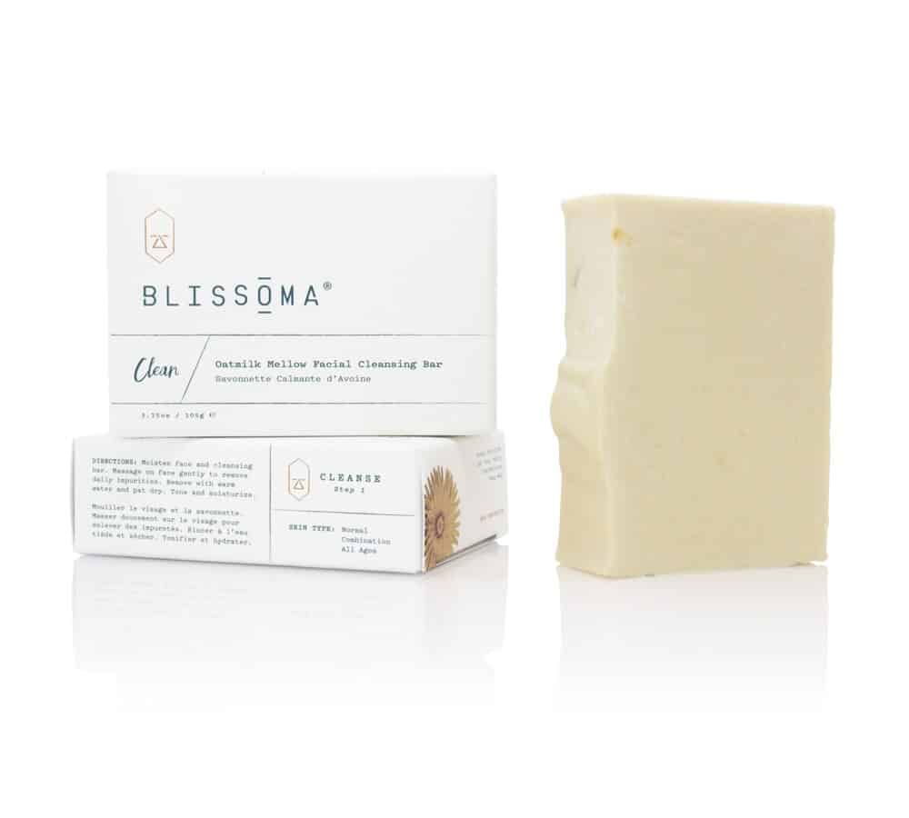 Clean Oatmilk Mellow Facial Cleansing Bar