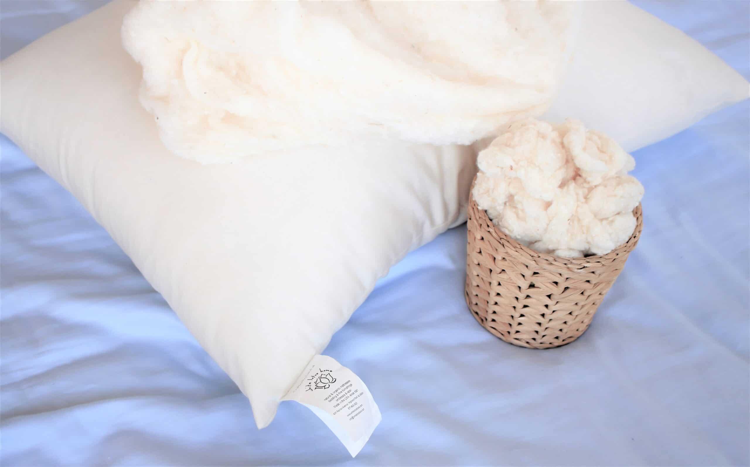 White Lotus Home Organic Cotton Toddler Pillows