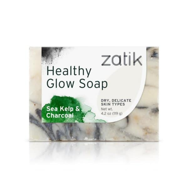 Zatik Healthy Glow Charcoal Detox Soap