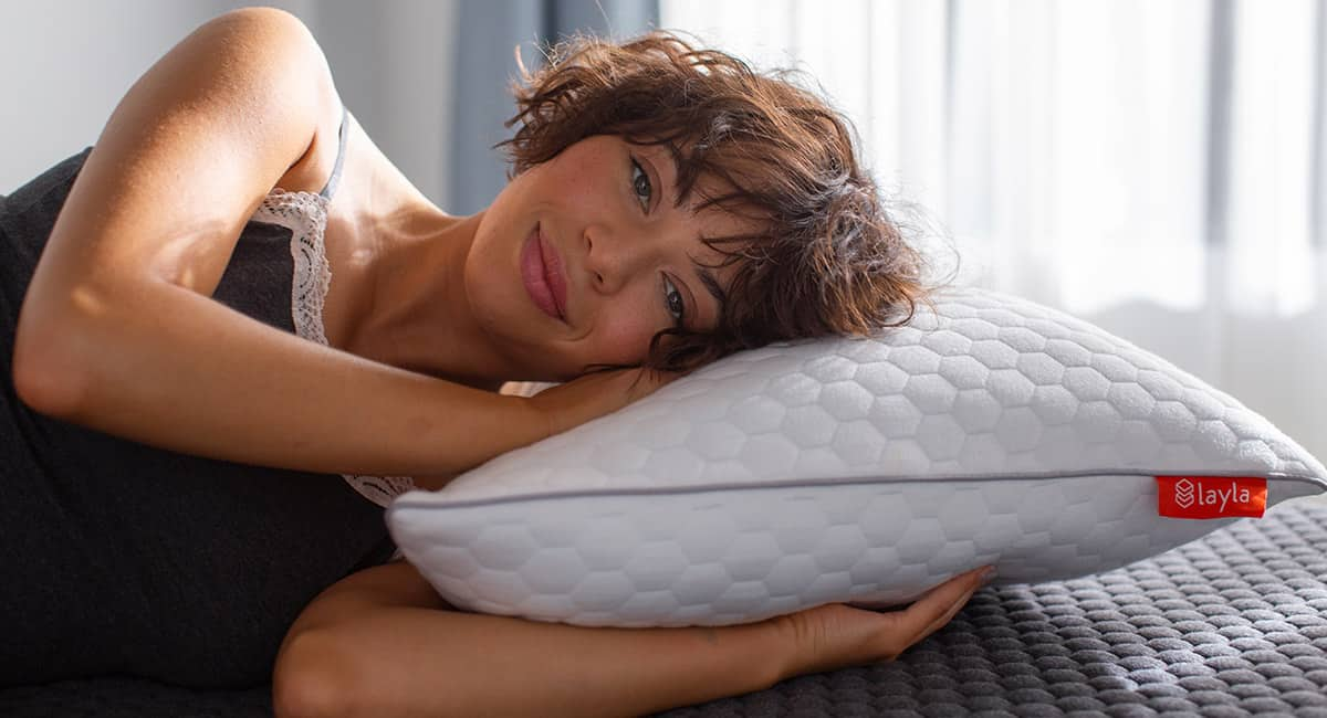 Memory Foam Pillow by Layla Sleep