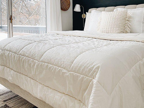 Organic Merino Wool Comforter by Futon Shop