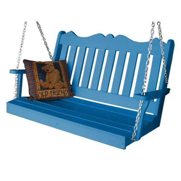 Recycled Plastic Poly Royal English Porch Swing