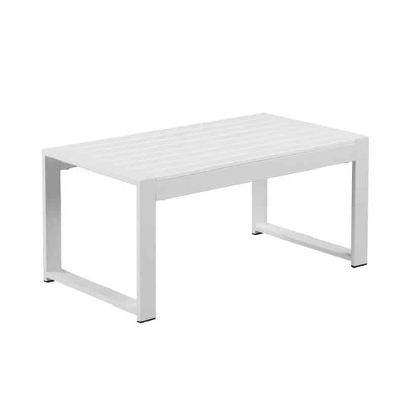 Aluminum and Recycled Plastic Coffee Table by Casa Gear