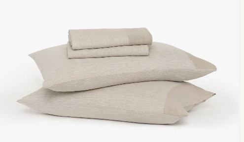 Buffy Soft Hemp Linen Sheets