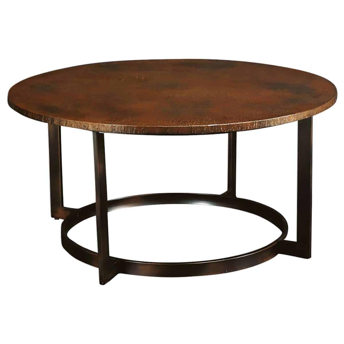 Nueva Round Coffee Table by Hammary