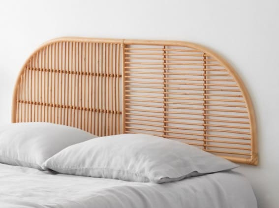 Java Rattan Headboard by The Citizenry