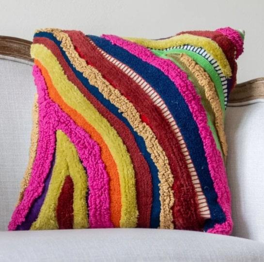 YaYa and Co Organic Cotton Throw Pillows