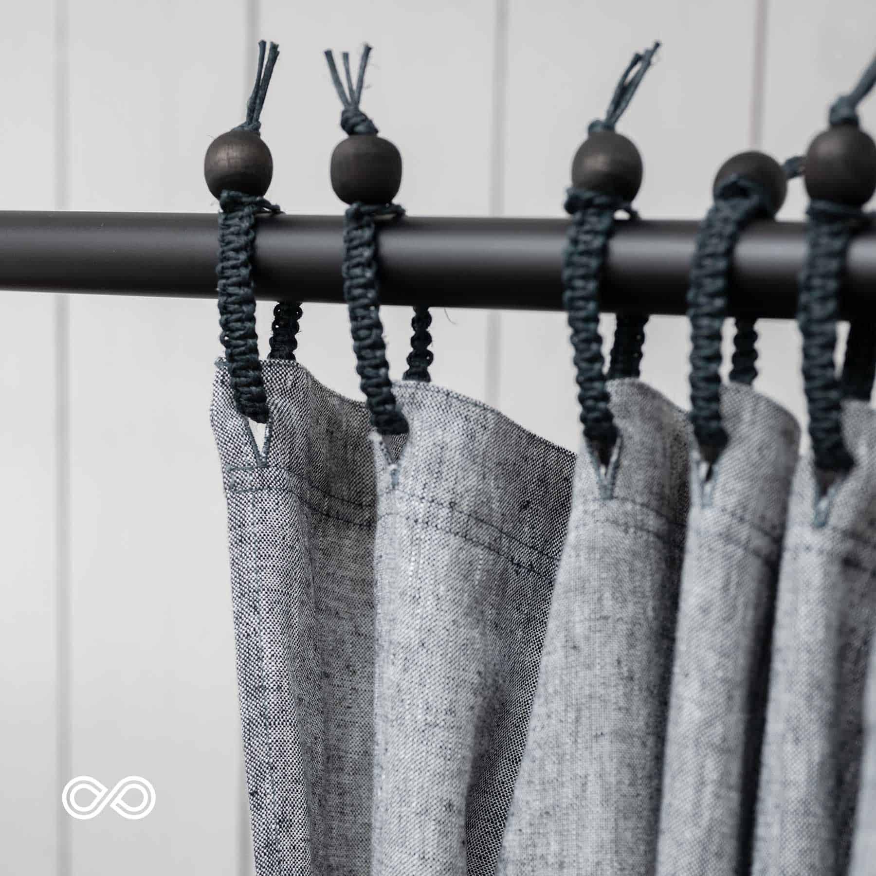 Rawganique Hemp Shower Curtain