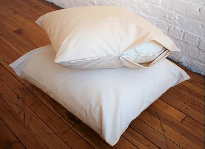 Organic Barrier Cloth Pillow Protector by White Lotus