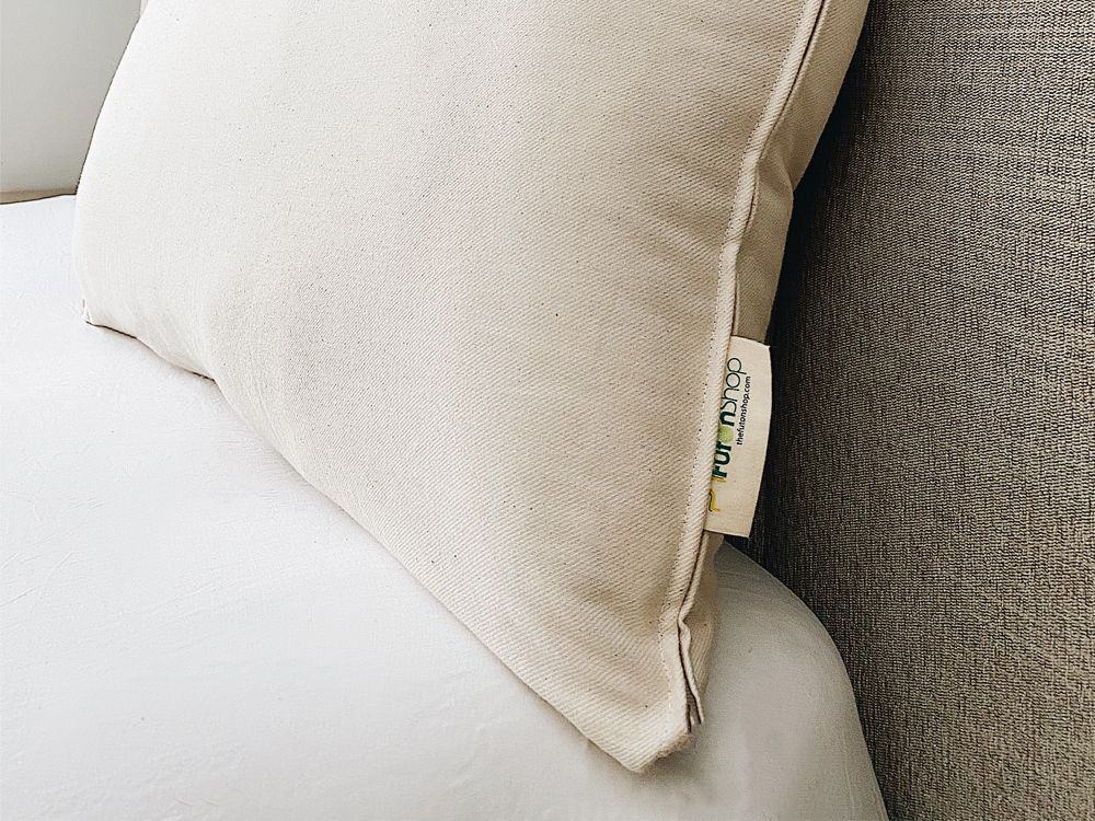 Organic Wool Bed Pillow by Futon Shop